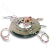 Pan cake slip ring